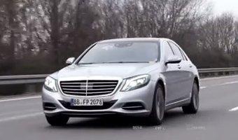 Mercedes-Benz представили видео с новым E-Class