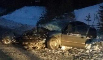 Смертельное ДТП с лесовозом на трассе «Первоуральск – Шаля»