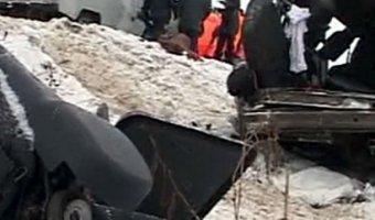 Водитель и два ребенка погибли в ДТП под Ангарском