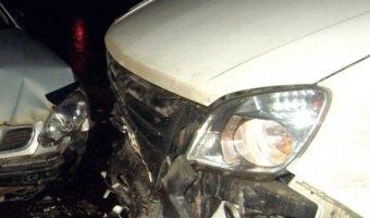 Под Ярославлем столкнулиьс шесть автомобилей и автобус
