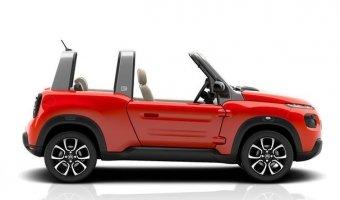 Электрический кабриолет кроссовер Citroen E-Mehari выйдет в 2016 году