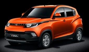 Индийская компания Mahindra подготовила новый хэтчбек KUV100