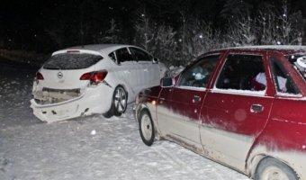 В ДТП с четырьмя автомобилями в ХМАО погиб человек