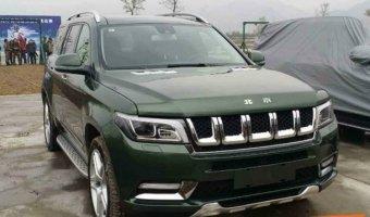 Новый внедорожник Beijing Auto BJ90 появился на фото