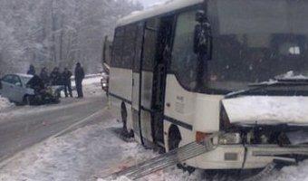 В ДТП с автобусом под Владимиром погиб человек, еще 11 пострадали