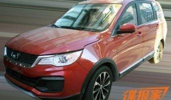 В Китае замечен новый Chery Cowin V3