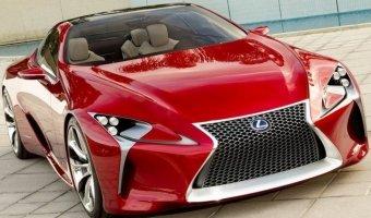 Серийный Lexus LC 500 будет построен на основе концепта LF-LC