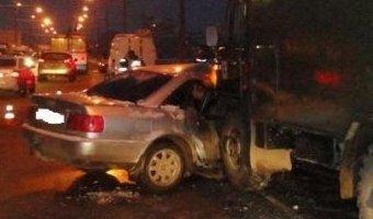 В Марий Эл при столкновении трех машин погиб человек