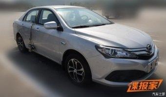 В Китае засняли обновленный седан BYD F3