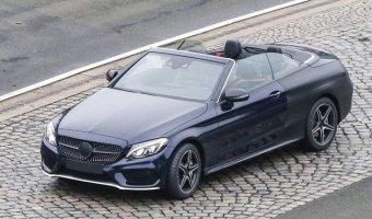 В Сеть выложили снимки прототипа Mercedes-Benz класса С
