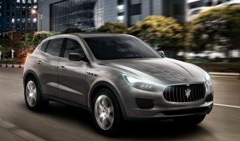 Кроссовер Maserati Levante начнет продаваться в марте по цене от 80 тысяч евро
