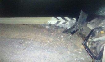 Под Тулой ВАЗ врезался в столб: пострадало четыре человека