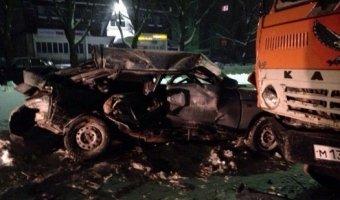 В ДТП с КАМАЗом и автогрейдером в Удомле погибли два человека