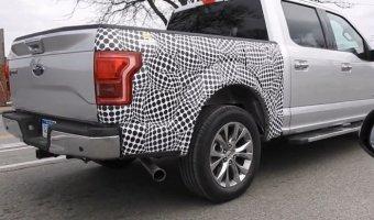 Дизельный пикап Ford F-150 был снят на тестах