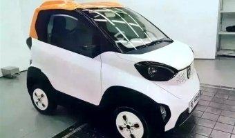 Появились шпионские снимки электромобиля Baojun E100