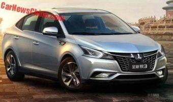 В Сеть выложили официальные фото новейшего седана Luxgen 3