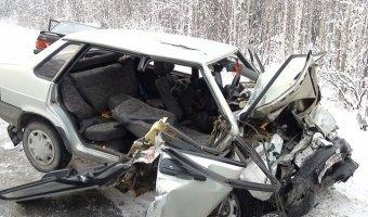В Свердловской области в ДТП с двумя ВАЗами погибли три человека