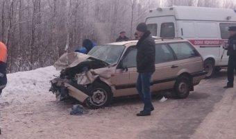На трассе Тверь – Бежецк в ДТП погибли два человека