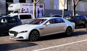 Aston Martin Lagonda заснят на дорогах Парижа
