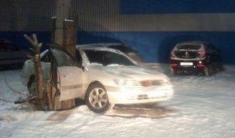 В Улан-Удэ погиб молодой водитель Toyota