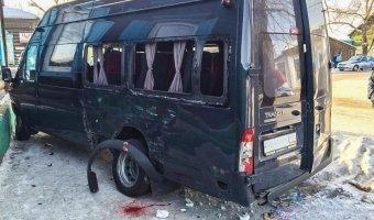 В Улан-Удэ в ДТП с маршрутками пострадали шесть человек