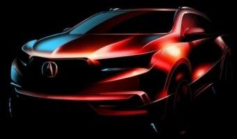 Новое поколение кроссовера Acura MDX дебютировало на официальном скетче