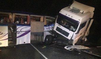 На Ставрополье в ДТП с автобусом погибли четыре человека
