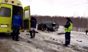 В Прикамье в ДТП с грузовиком погиб человек