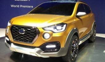 В Дели представили кроссовер Datsun GO-cross