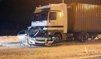 В ДТП на Ленинградском шоссе под Солнечногорском погибли два человека