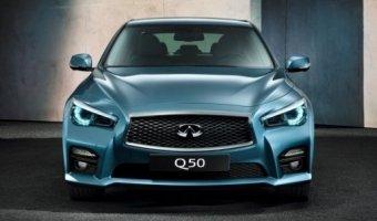 Гибридный седан Infiniti Q50 покинул российский авторынок