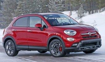 Fiat приступили к тестам «заряженной» Abarth-версии 500X