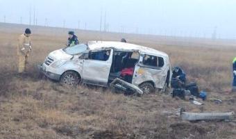 В Ростовской области в ДТП с микроавтобусом погибла женщина