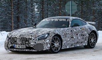 Фотошпионы засняли Mercedes-AMG GT-R 2017