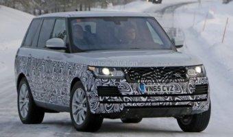 На тестах замечен обновленный Range Rover