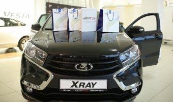«АВТОРУСЬ» отпраздновала старт продаж LADA XRAY