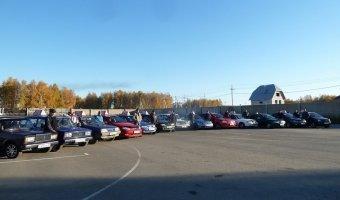 Количество автомобилей в России перевалило за 56 миллионов