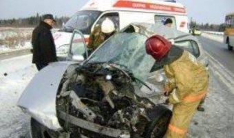 В ДТП в Гагаринском районе погибли 4 человека
