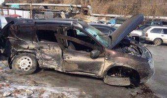 В Горно-Алтайске в результате столкновения Toyota Camry и Renault Duster погибла девушка, ещё четверо - в больнице
