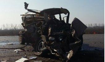 При столкновении КамАЗа и ВАЗа под Воронежем погибли два человека