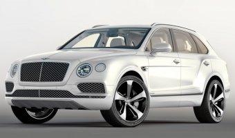 Новый кроссовер Bentley Bentayga передан первым покупателям