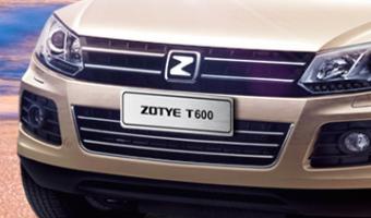 Китайский Zotye T600 вышел на российский рынок