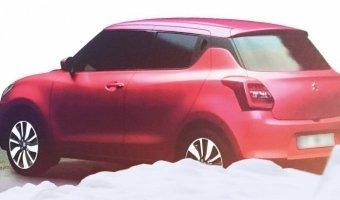 Внешность нового хэтчбека Suzuki Swift рассекречена