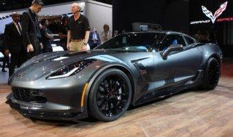 Chevrolet представили в Женеве спецверсию купе Corvette - Grand Sport