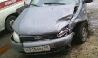 В ДТП в Ельце пострадал человек