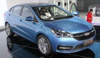 На рынке Китая начались продажи седана Chery Arrizo 5