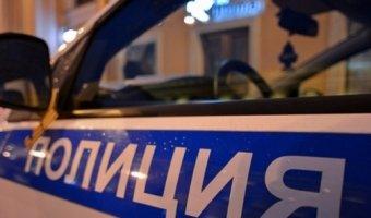 Mercedes врезался в полицейскую машину в Мытищах