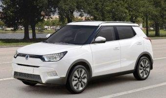 SsangYong может выпустить Tivoli в кузове кабриолет
