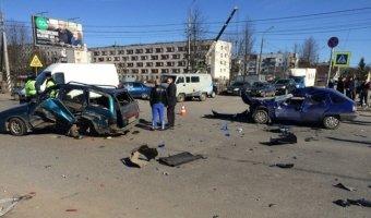 Крупная массовая авария в Кировске