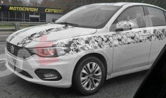На дорогах Москвы замечен новый седан Fiat Tipo